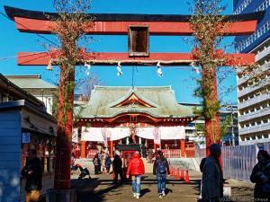 初詣はこの稲荷神社で