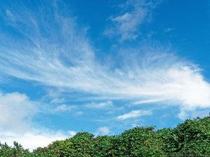 劇的な空の変化に・・